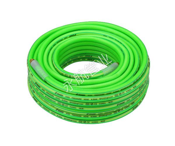 Green Transparent 5 Layers Hose