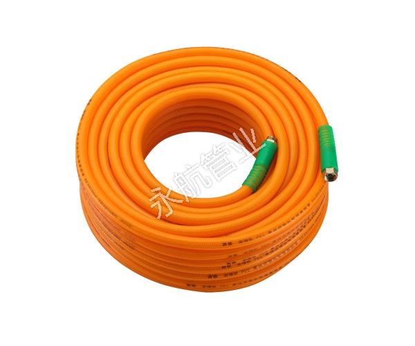 Orange Braided Hose
