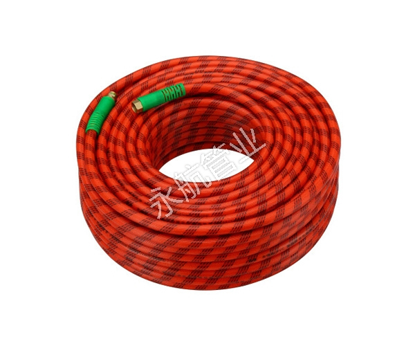 Red Braided Hose